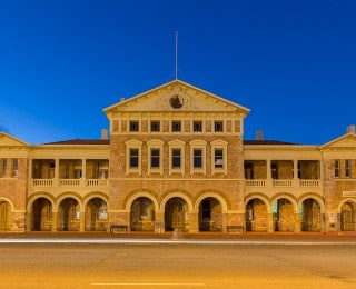 Coolgardie - Historic Wardens Court, the starting point for the Golden Quest Discovery Trail