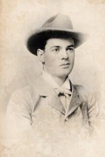 A young Herbert Hoover