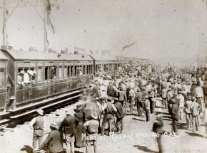 Menzies Railway Opening March 1898