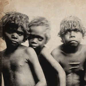 square - Aboriginal children