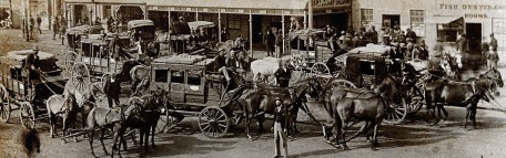 Cobb & Co Coaches Leaving Great Western Hotel Coolgardie 97-6#2
