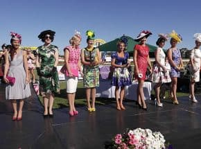 Fashions on the field entrants at the Kalgoorlie Boulder Racing Club